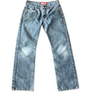 Levi's Bottoms - Levi's Boy's 514 Slim Straight Jeans - 27x27 (14)
